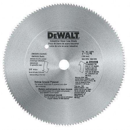 Crclr Saw Bld,steel,7-1/4 In,140 Teeth