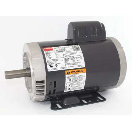 GP Mtr CS ODP 1 1/2 HP 1725 rpm 145TC by USA Dayton General Purpose Capacitor Start AC Motors