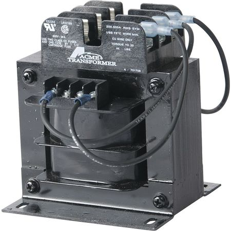 Control Transformer 250VA 3.88 In. H Model TBGR69303F3 by USA Acme Electrical Control Transformers