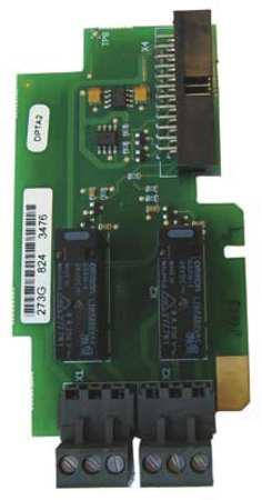 Standard I/O Card 2 Relay Output (NC/NO) by USA Eaton Adjustable Frequency Motor Drive Accessories