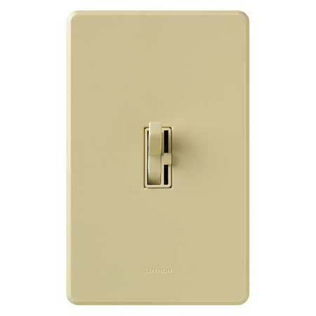 Lighting Dimmer 1 Pole Toggle Ivory by USA Lutron Electrical Lighting Dimmers