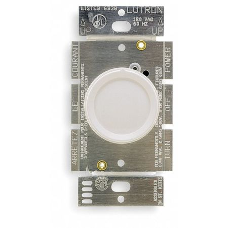 Lighting Dimmer Rotary 3 Way 600W by USA Lutron Electrical Lighting Dimmers