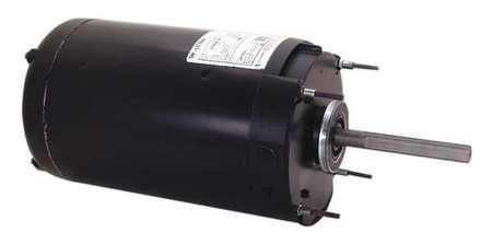 Condenser Fan Motor 1 HP 1075 rpm 60 Hz Model C785 by USA Century Permanent Split Capacitor Condenser Fan Motors