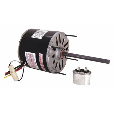 Condenser Fan Motor 1/3 HP 1075 rpm 60Hz Model BDH1036 by USA Century Permanent Split Capacitor Condenser Fan Motors
