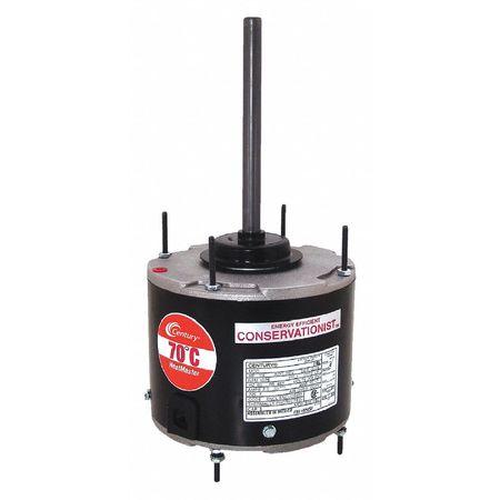 Condenser Fan Motor 1/8 HP 825 rpm 60 Hz by USA Century Permanent Split Capacitor Condenser Fan Motors