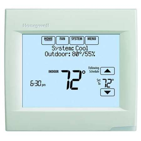 Touch-Screen Programmable Thermostats
