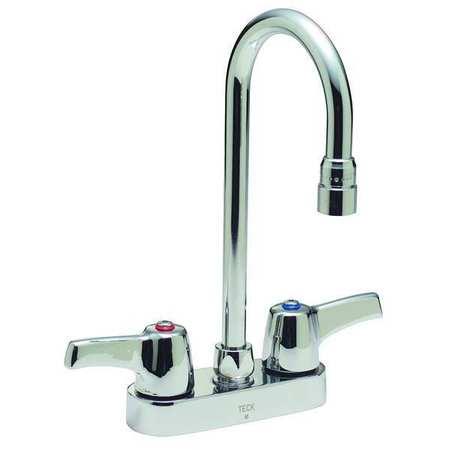 Delta Rigid Swing Bathroom Faucet Chrome 2 Holes Ada Compliant 27c4843