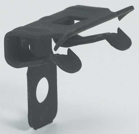Flange Clip Steel Zinc Phosphate by USA B Line Eaton Electrical Conduit Clamps & Hangers