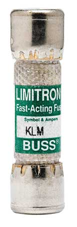 1/2A Fast Acting Melamine Midget Fuse 600VAC/DC by USA Eaton Bussmann Circuit Protection Fuses