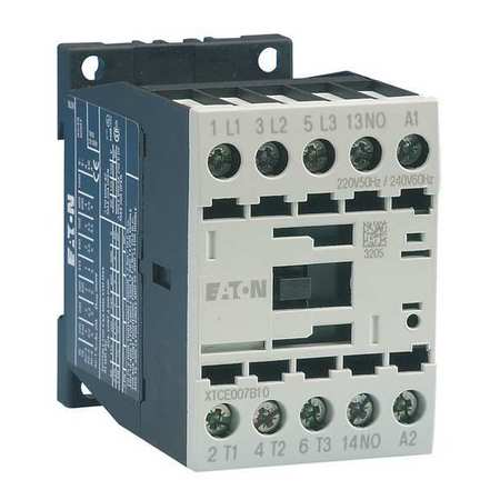 IEC Magnetic Contactor 480VAC 12A 1NO 3P by USA Eaton Electrical Motor Magnetic Contactors