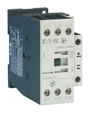 IEC Magnetic Contactor 480VAC 25A 1NO 3P by USA Eaton Electrical Motor Magnetic Contactors