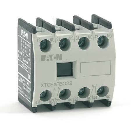 Frnt Aux Seq A 2NO/2NC For XT Frame B C by USA Eaton Electrical Motor Auxiliary Contacts