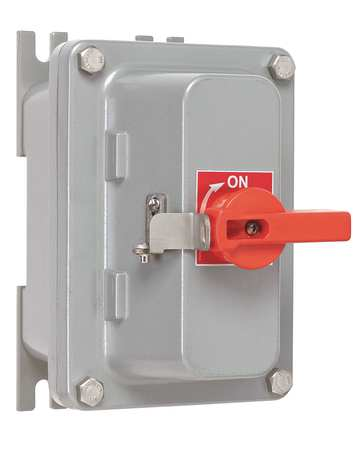 600 Single Throw Hazard Safety Switch 3P by USA Hubbell Killark Electrical Safety & Disconnect Switches