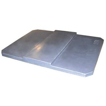 Value Brand Cube Truck Lid Gray Fits 20 cu. ft.