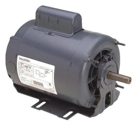 Motor Cap St 1 HP 1725/1140 208 230V 56 Model C472A by USA Century HVAC Belt Drive Motors