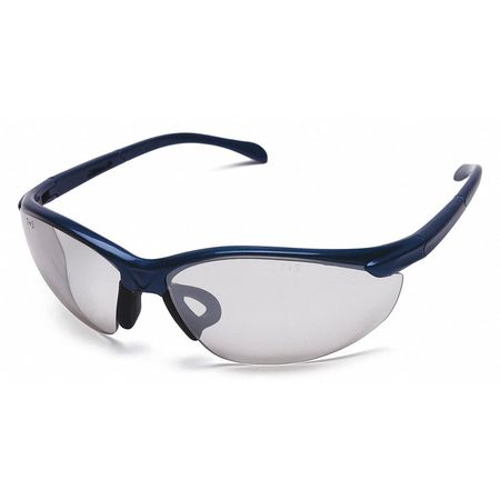 Scratch-Resistant Condor Clear Safety Glasses Wraparound OTG