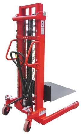 Dayton Pltfrm Lift 3000 lb. Cap.81-1/2 In H