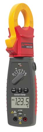 Digital Clamp Meter 40 MOhms 600V by USA Amprobe Electrical Clamp Meters