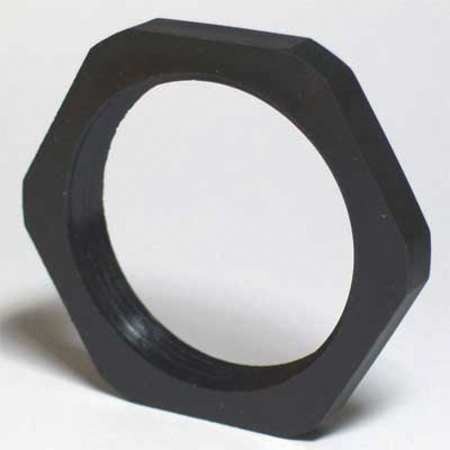 Connector Lock Nut 2.15in Blk Polyamides by USA Energy Chain Electric Cable Carriers