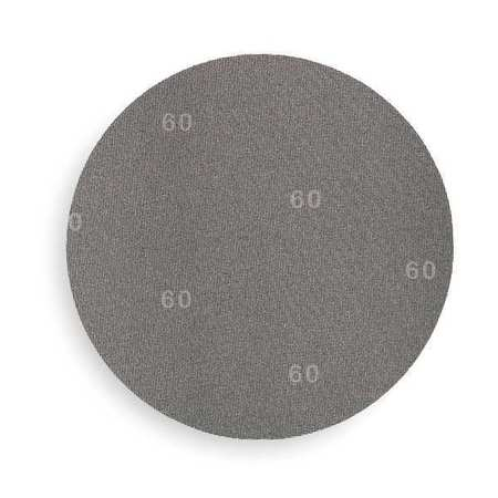 3M 60440202160 PSA Sanding Disc,AlO,Cloth,12in,80G,PK10