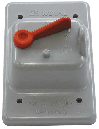 Weatherproof Cover PVC Boxes Model 5133330 by USA Cantex Electrical Weatherproof Box Covers