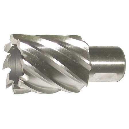 3//4 Cutting Diameter Taipan Abrasives TO-8608 M2 Steel Original Annular Cutter Weldon Shank 1 Cutting Depth