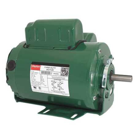 Farm Duty Mtr CS TEAO 3/4 HP 1725 rpm 56 by USA Dayton AC Farm Duty Motors