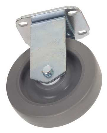 Value Brand Rgd Plate Castr Therm Rubber 5 in 200 lb