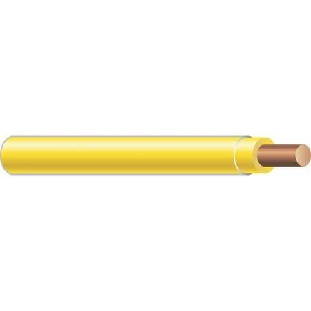 Building Wire THHN 14 AWG Yellow 500ft by USA Southwire Electrical Building Wire