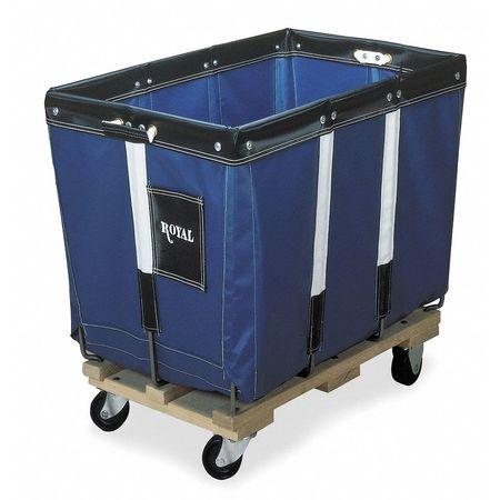 Knock Down Basket Truck,12 Bu,Red Vinyl ROYAL BASKET TRUCK G12-RRX-KDA-3UNN