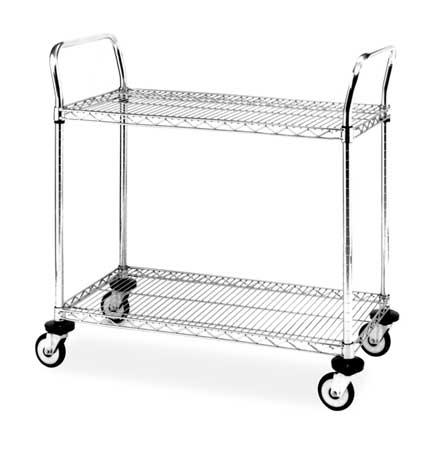 Metro Wire Cart 24 In. W 30 In. L Steel