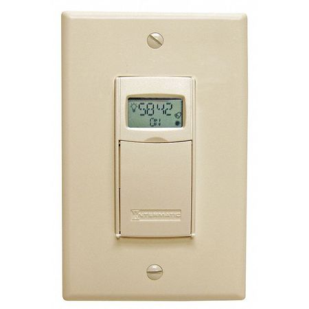 Timer Elect WallSwitch 120 277V 20A LtAl by USA Intermatic Electrical Plug In & Wall Switch Timers