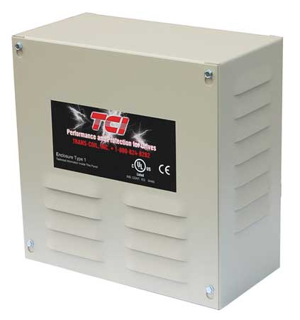 InputReact. HighZ 208/240V 10.6A ULType1 by USA KDR Input Line Drive Reactors