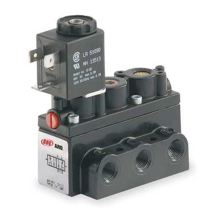 ARO S5SS9A-1 Solenoid Air Control Valve,120VAC