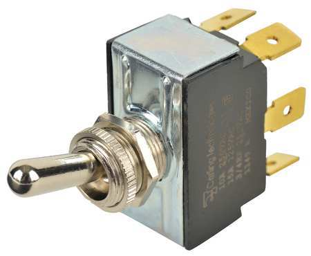 Toggle Switch DPDT 10A @ 250V QuikConnct Model 2GL51 73 by USA Carling Electrical Toggle Switches