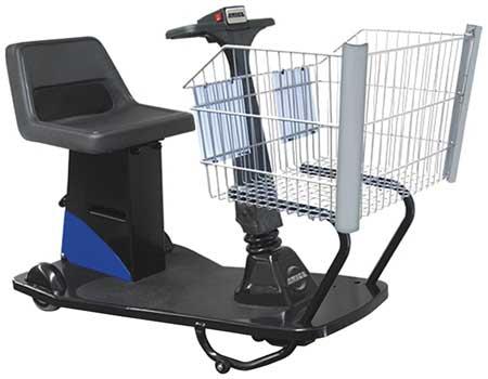 Value Brand Value Shopper Handicap Cart Blue