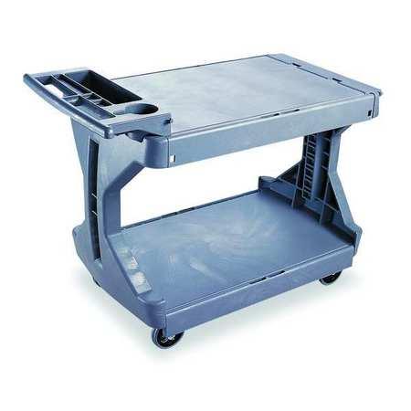 Value Brand Utility Cart 400 lb. Load Cap. PE