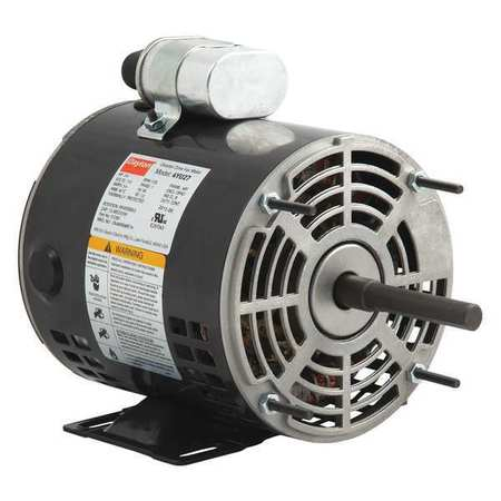 Dayton motor psc 1 4 hp 1725 rpm 115v 48z oao 4yu27 for Blower motor capacitor symptoms