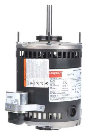 Motor PSC 1/4 HP 1140 RPM 115V 48Y OAO by USA Dayton Direct Drive Permanent Split Capacitor Blower Motors