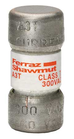 20A Fast Acting Glass/Melamine Class T Fuse 300VAC/160VDC by USA Mersen Ferraz Shawmut Circuit Protection Fuses