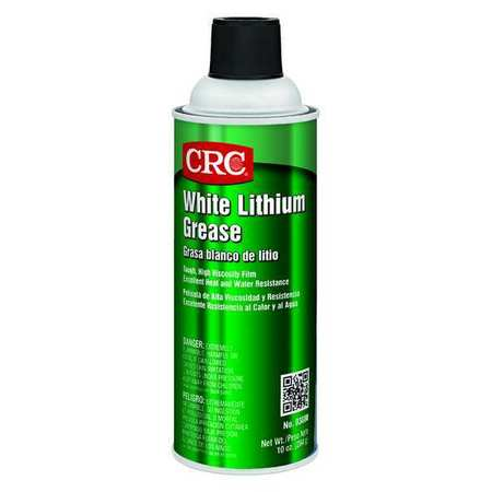 Crc White Lithium Grease 10 Oz 03080 Zoro Com