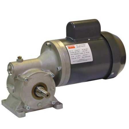 AC Gearmotor 68 rpm TEFC 115/208 230V by USA Dayton AC Gear Motors