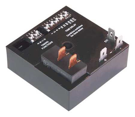 Time Delay Relay 12VDC 25A SPST by USA Airotronics Electrical Time Delay Relays