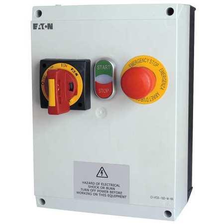 IEC Combo Str 20 A 120V Coil 4X Enc Model EMS02D5DBA by USA Eaton Electrical Motor NEMA Combination Starters