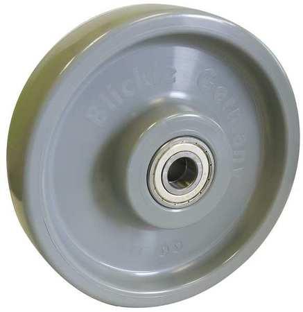 Value Brand Caster Wheel Nylon 8 in. 2200 lb. Gray