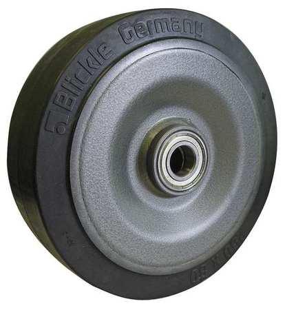Value Brand Caster Wheel Rubber 6-1/4 in. 990 lb.