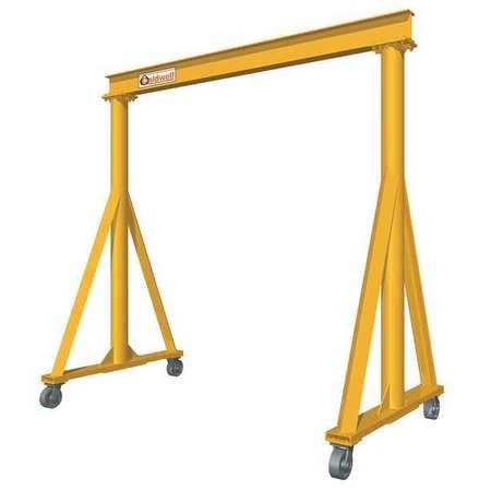 Caldwell Portable Gantry Crane 16 ft. H Yellow