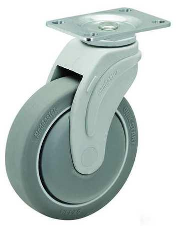 Value Brand Swivel Plate Caster 7-11/16 in H 325 lb.