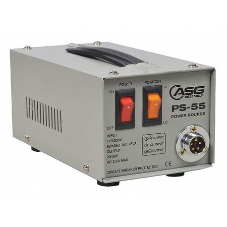 Screwdriver Power Supply 110 to 240VAC by USA ASG Electrical AC DC Power Supplies
