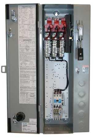 NEMA Fusible Str Size 2 480V Coil 1 Enc by USA Eaton Electrical Motor NEMA Combination Starters